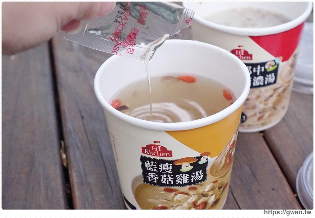 20171116191913 74 - 台中萊爾富推出很鬧的藍瘦香菇雞湯–喝完到底會不會香菇!!??