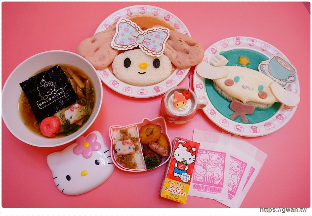 [日本旅遊●東京] 三麗鷗彩虹樂園 | 三麗鷗最萌的餐點、最好逛商店在這裡
