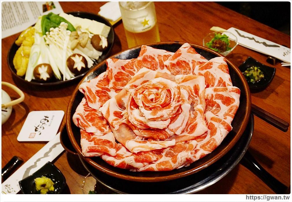 [日本九州●鹿兒島] 黒豚料理 あぢもり — 玫瑰花在火鍋裡綻開了 | 黑豬肉涮涮鍋創始老店