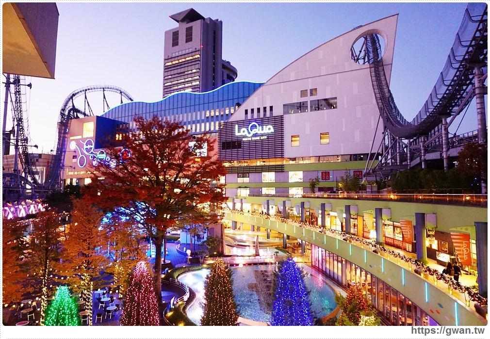 [日本旅遊●東京] 東京巨蛋城遊樂園 — 東京都心的遊樂園 | 免費入場、不分晝夜都好玩