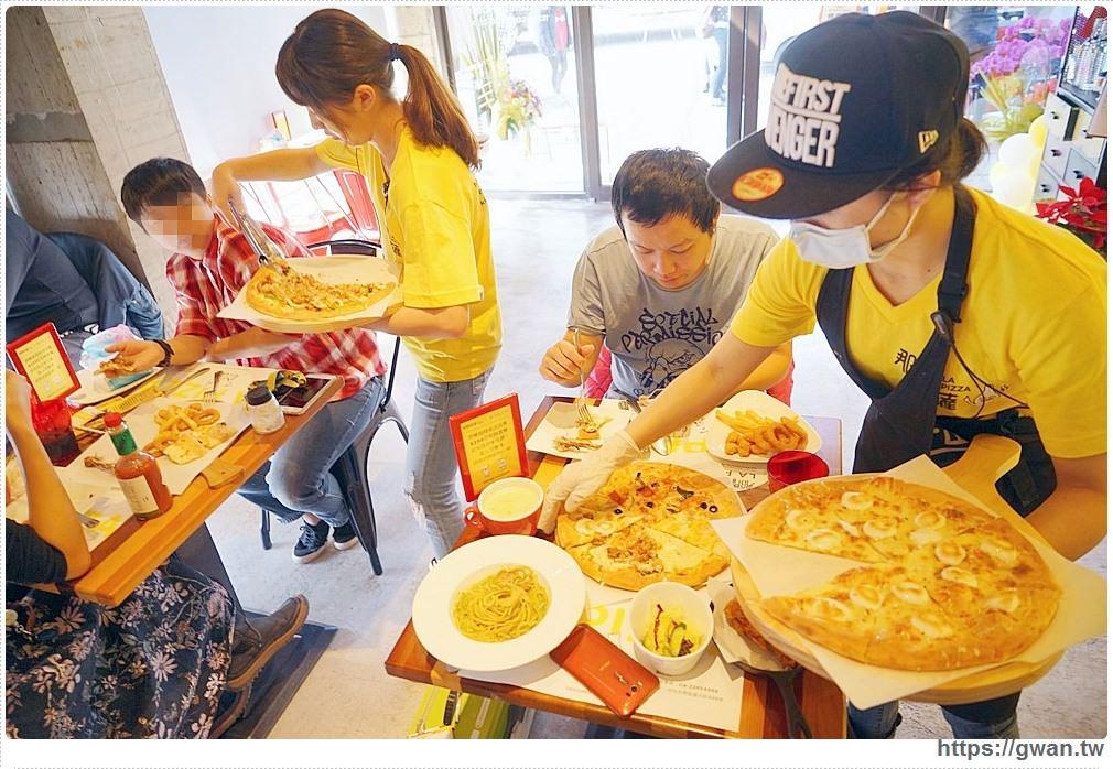 熱血採訪 | 那間披薩 — 中興大學披薩炸雞吃到飽