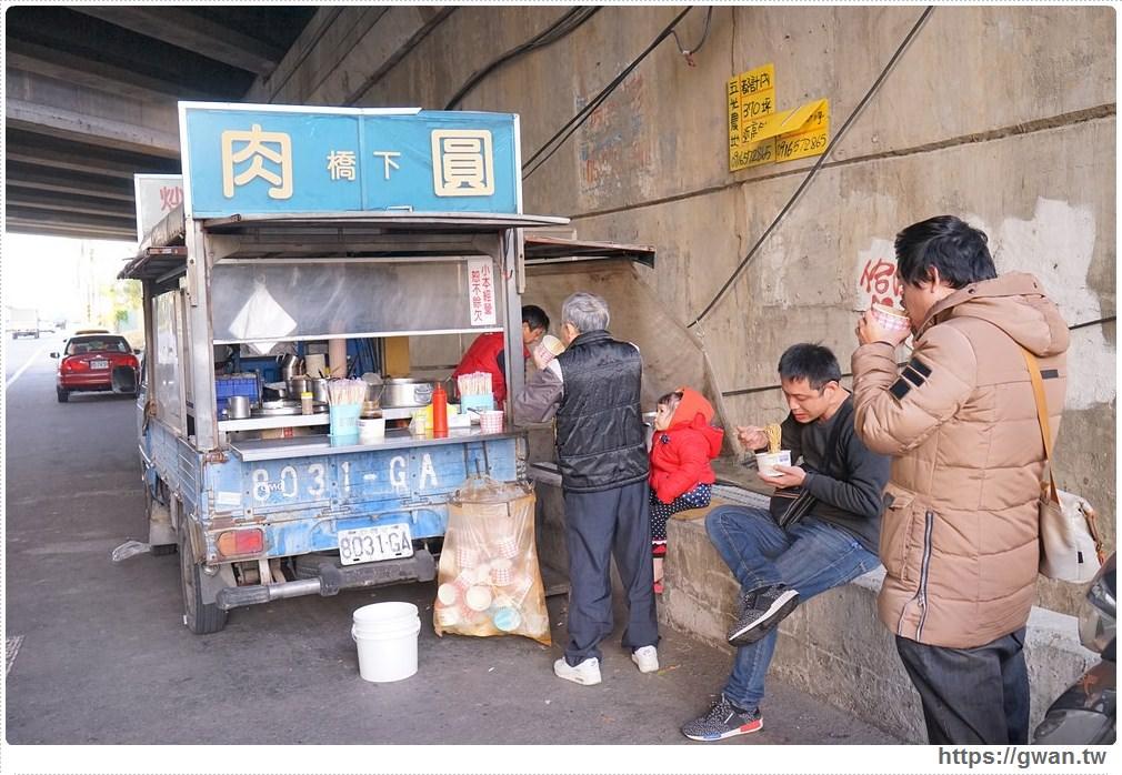 [台中小吃●烏日] 橋下肉圓 — 每天只賣四小時的隱藏版美食 | 35元肉圓+豬血湯喝到飽!!