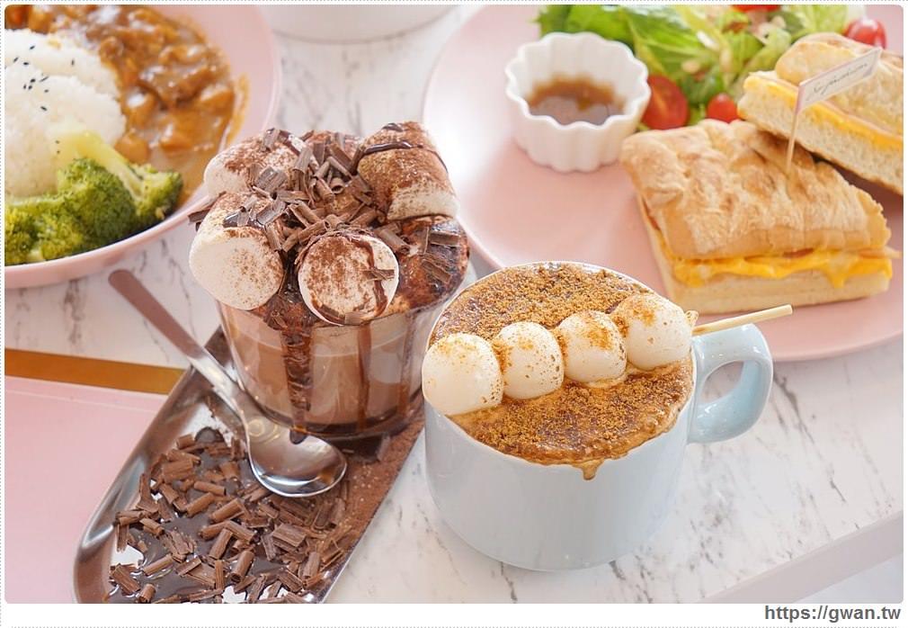 [內湖韓風咖啡廳] so fashion cafe — 療癒的胖嘟嘟糰子拿鐵,還有販賣機牆和超夢幻韓風場景