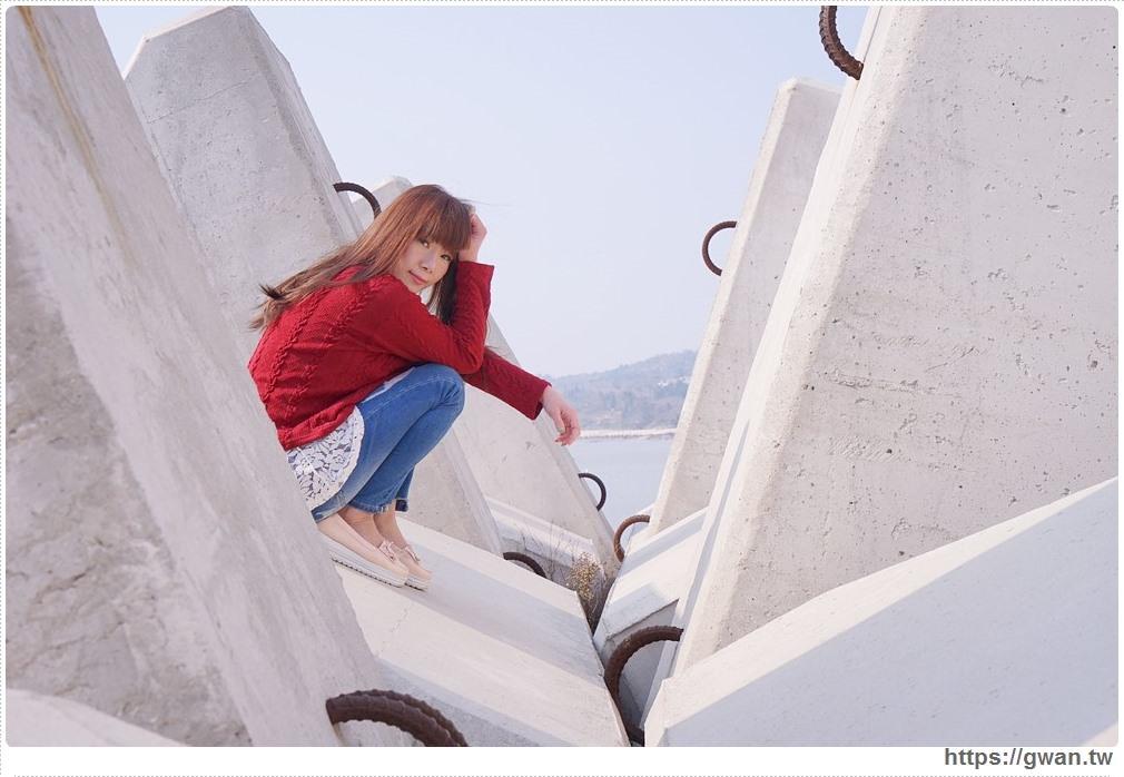 [金門景點●金湖] 新湖漁港 — 消波塊也能拍出IG美照,金門私藏祕境景點