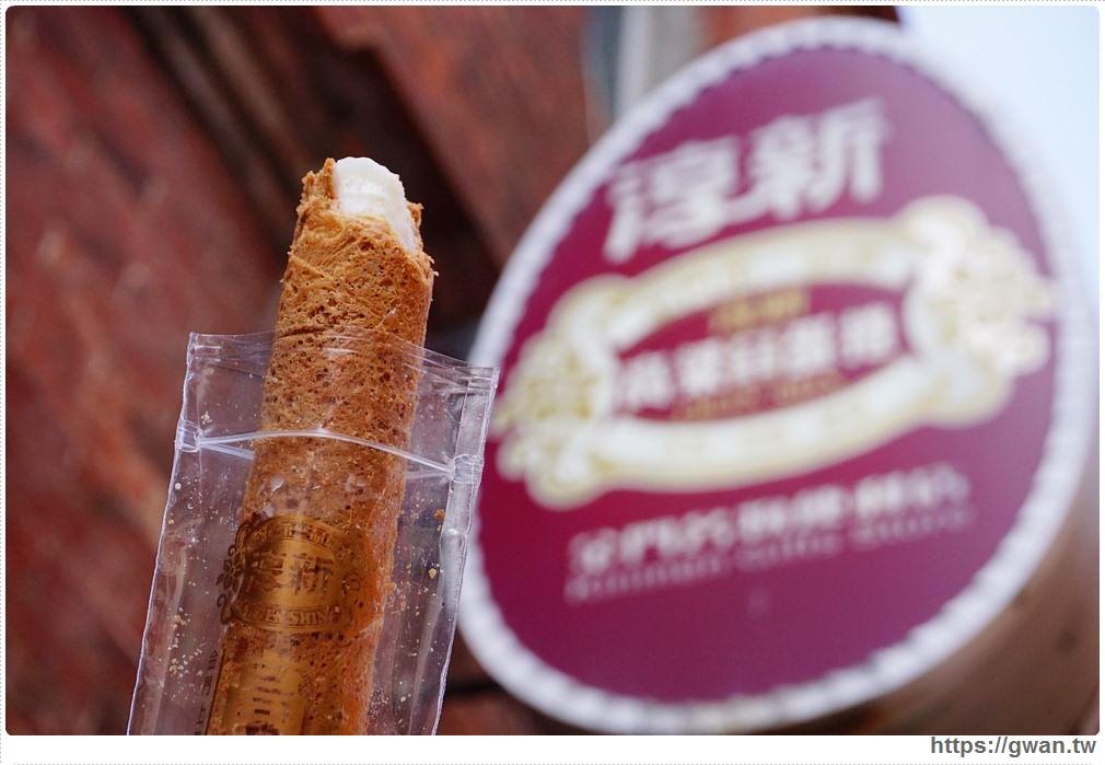 [金門美食●金城] 模範街淳新商號 — 台灣吃不到的高粱酒冰淇淋蛋捲