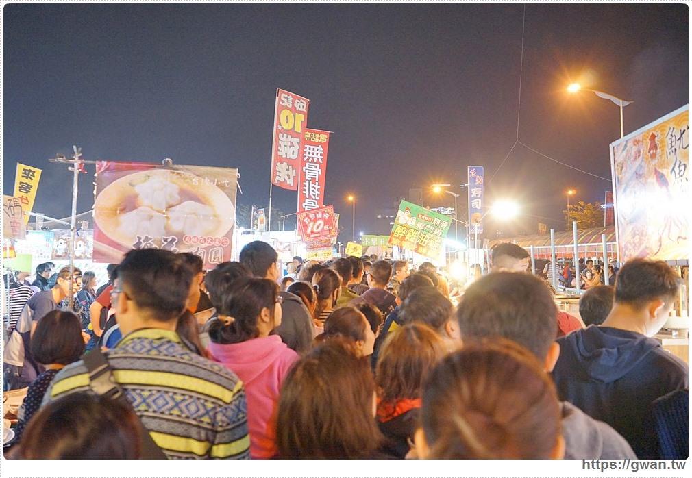台中太原夜市3/29新開幕 | 佔地千坪觀光夜市,一開幕人潮就擠爆