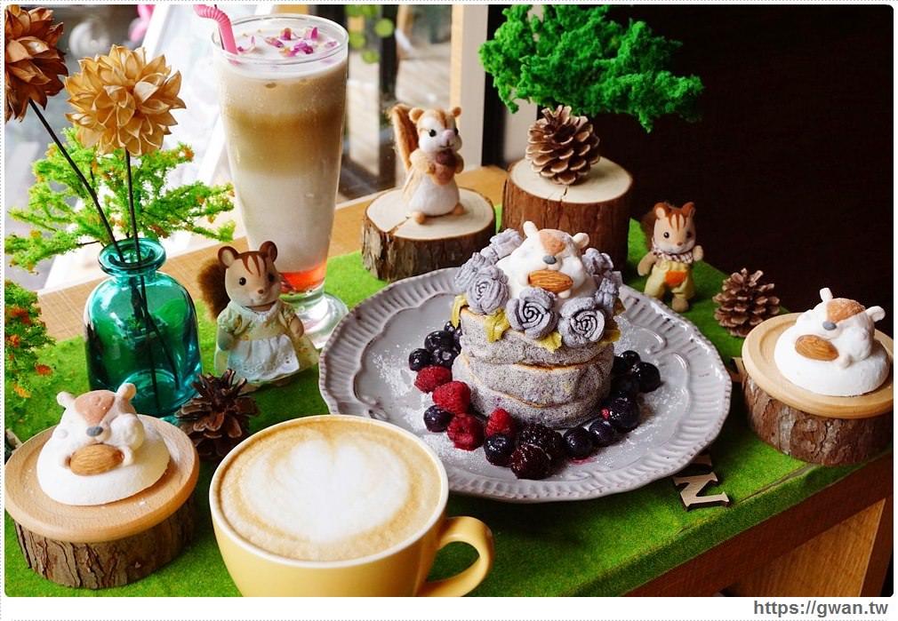[樹林咖啡廳] Niko Niko Cafe | 超萌花栗鼠下午茶限量供應,北大特區乾燥花咖啡廳