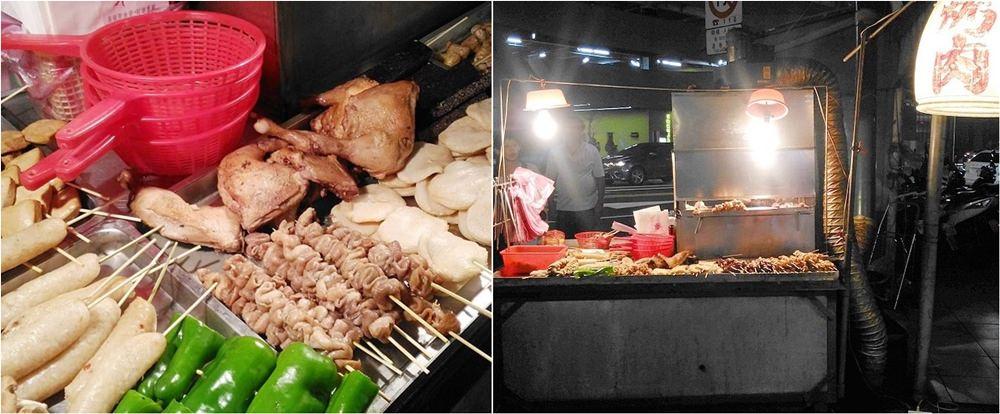 饒河夜市無名烤肉攤 | 一星期只賣三天的隱藏版炭火烤肉,夜市必吃美食