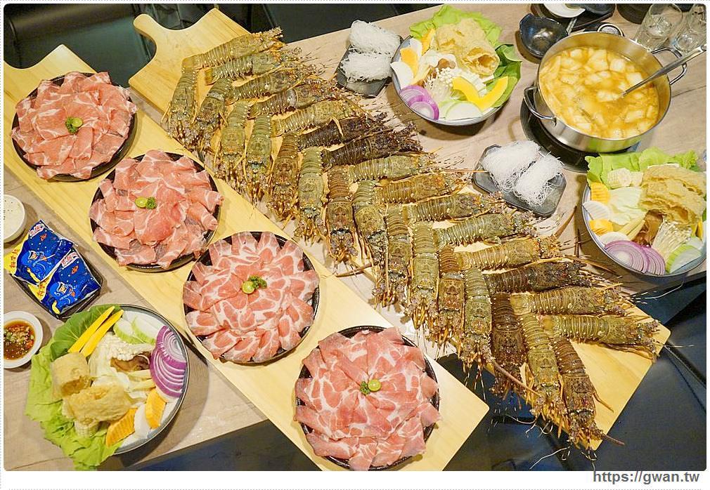 全台最浮誇的龍蝦火鍋在台中 | 隱藏版屠龍計劃一天限量兩份,沒預訂吃不到!!