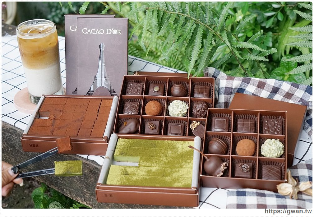 [宜蘭美食/下午茶] 可可德歐巧克力推薦,在地食材與手工巧克力的創意結合