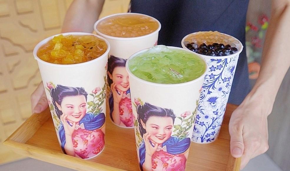 茶品心坊古典仕女杯 | 巨無霸紅茶只要25元,還有隱藏版熊貓豆奶這樣點!!