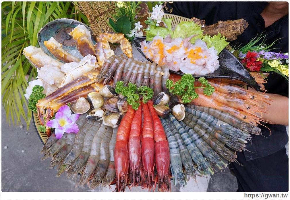 水森水產 | 台中最青的現撈海鮮,一次給你40隻蝦蝦和帝王蟹,打卡再送300g美牛!!