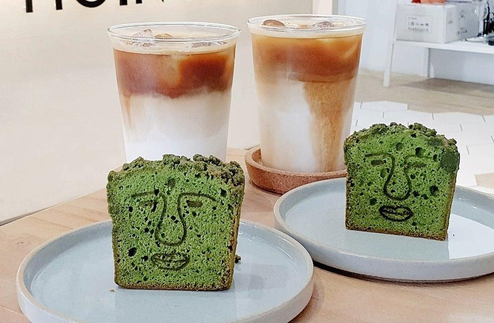 Moin Coffee 莫因咖啡 | 低調藏在巷子裡,喜感百分百的大佛抹茶磅蛋糕~