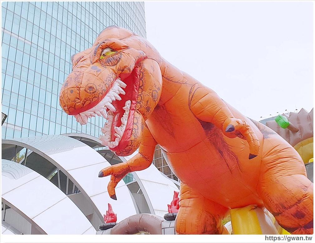 20181212192143 54 - 台中恐龍主題氣墊樂園,為期一個月,平日不限時,快帶小朋友來放電吧 ~