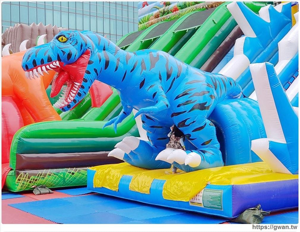 20181212192153 82 - 台中恐龍主題氣墊樂園,為期一個月,平日不限時,快帶小朋友來放電吧 ~