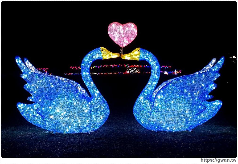 金城海濱公園 | 夜間主題花燈開放囉,春節免費參觀景點!!