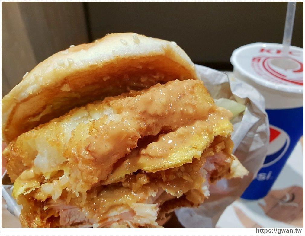 20190215152600 84 - 肯德基期間限定的花生醬雞腿堡只到3/4,台中只有這兩間吃得到,加量42%花生醬