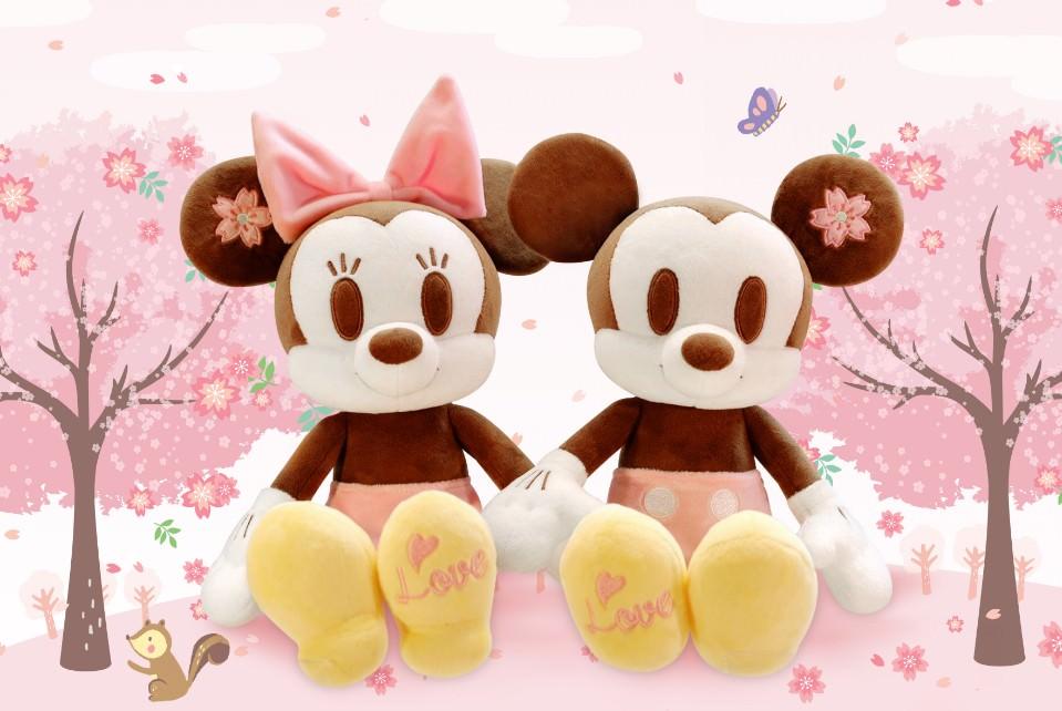 台灣限定迪士尼櫻花季!!首發就在台中新光三越,228開幕迪士尼控千萬別錯過!