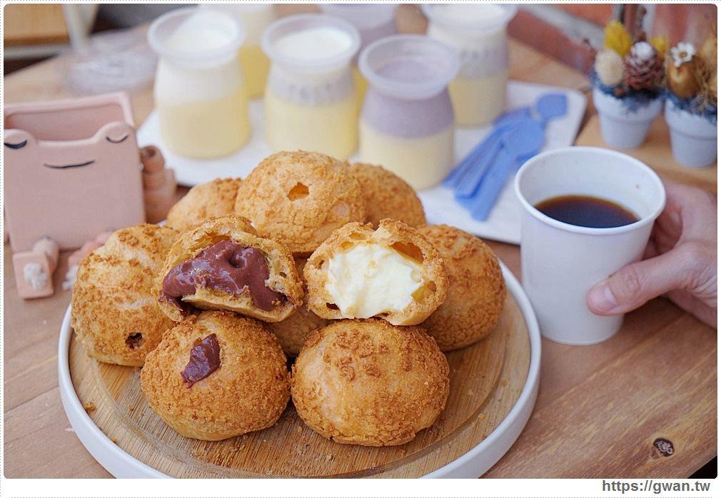 豐蛋糕咖啡烘焙館 | 爆漿泡芙一顆不用10元,內用免費咖啡喝到飽!!