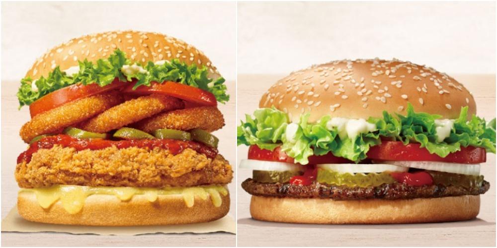 20190304135610 100 - 漢堡王買一送一又來了!!買指定漢堡送小華堡,快點吃起來~