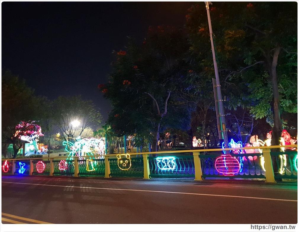 20190318222452 17 - 台中新燈會開幕囉!!夜晚的美麗燈海就在十九甲健康公園~