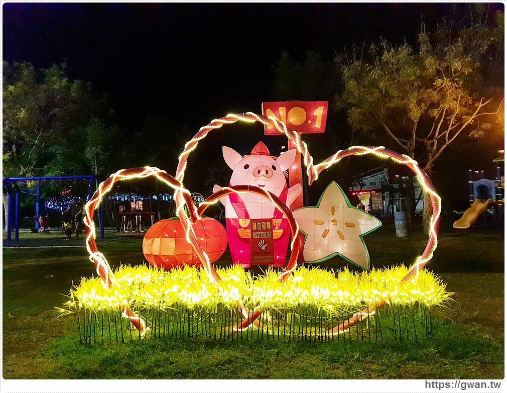 20190318222458 10 - 台中新燈會開幕囉!!夜晚的美麗燈海就在十九甲健康公園~