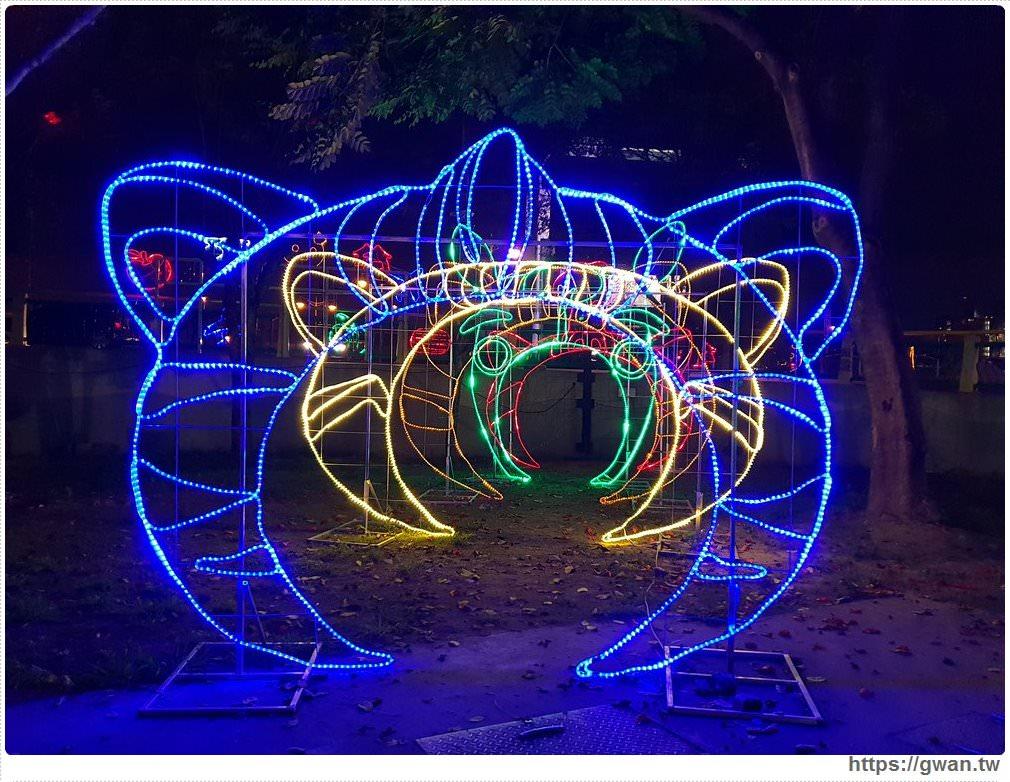 20190318222505 81 - 台中新燈會開幕囉!!夜晚的美麗燈海就在十九甲健康公園~