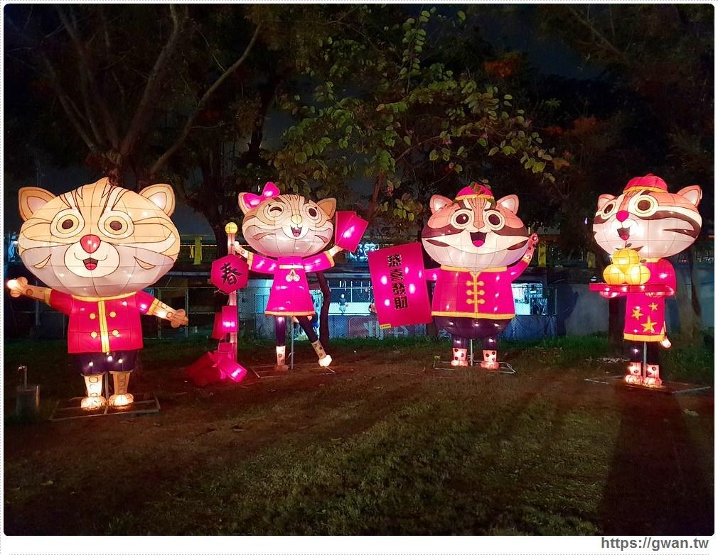 20190318222507 99 - 台中新燈會開幕囉!!夜晚的美麗燈海就在十九甲健康公園~