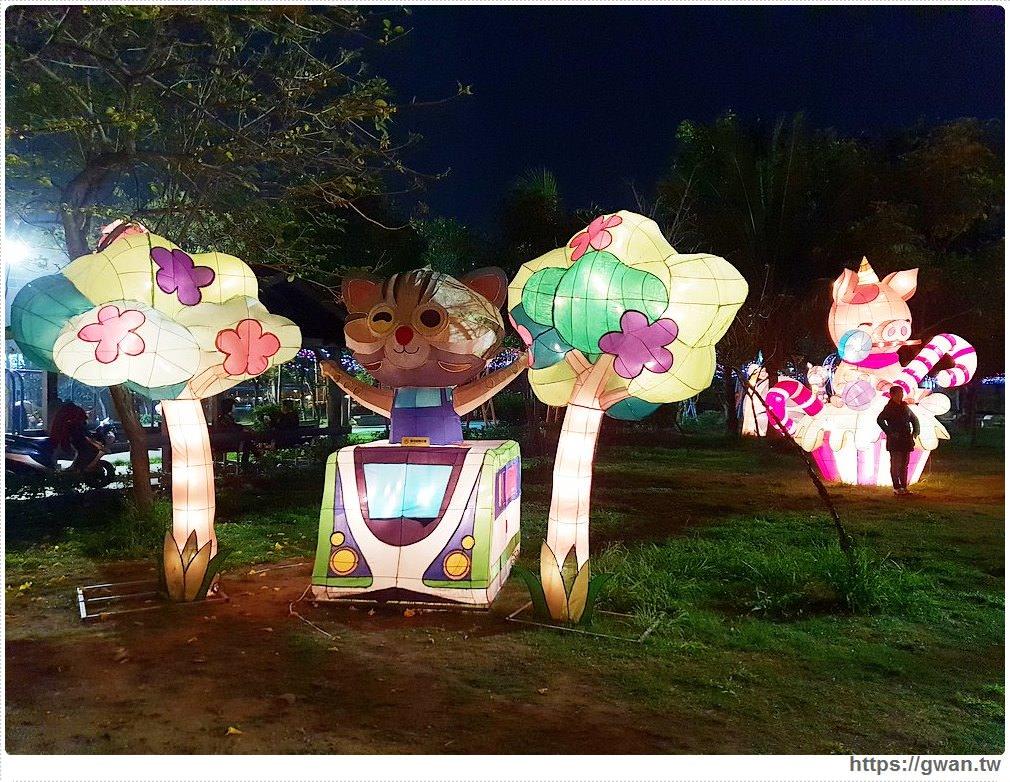 20190318222510 68 - 台中新燈會開幕囉!!夜晚的美麗燈海就在十九甲健康公園~