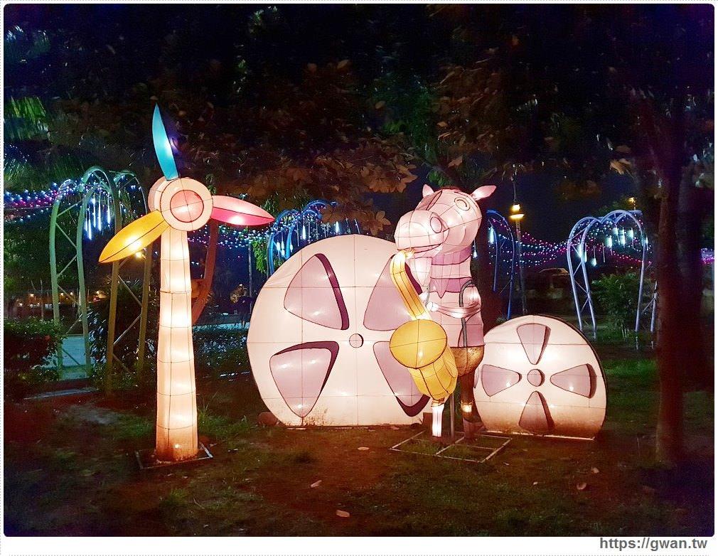 20190318222511 11 - 台中新燈會開幕囉!!夜晚的美麗燈海就在十九甲健康公園~