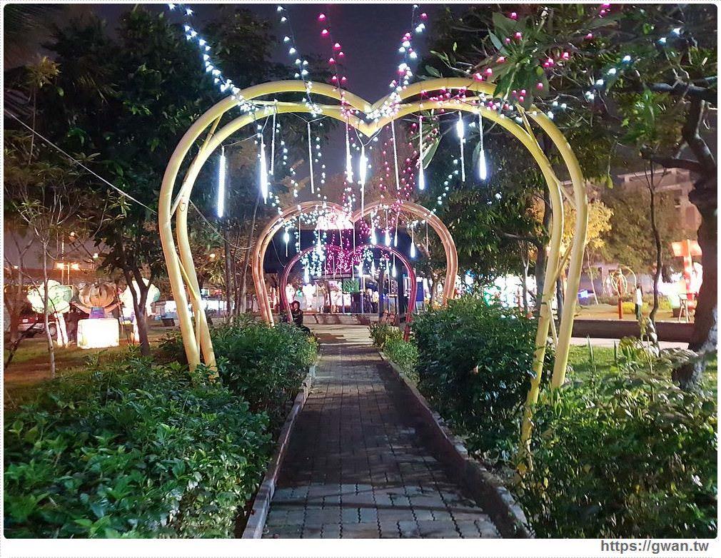 台中新燈會開幕囉!!十九甲健康公園出現美麗燈海~