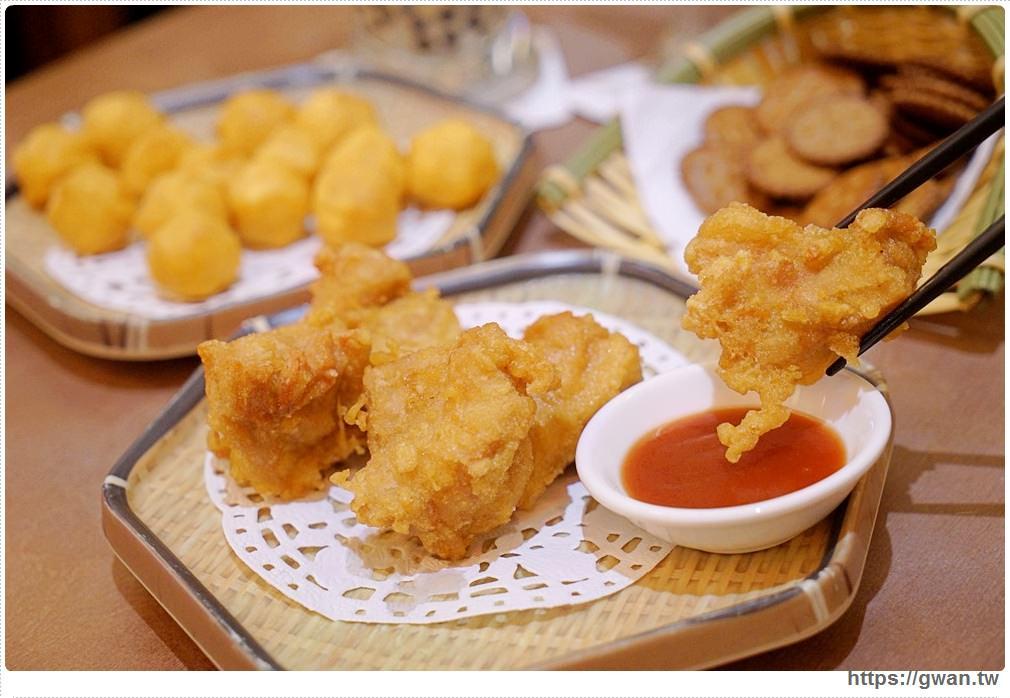 台中美食有春茶館 | 口水炸雞