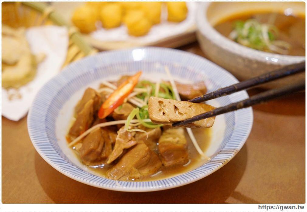 台中美食有春茶館 | 滷千層豆干