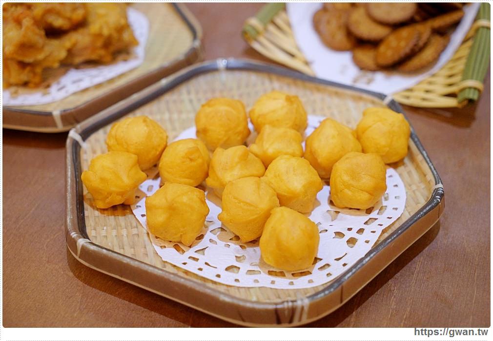 台中美食有春茶館 |QQ地瓜球