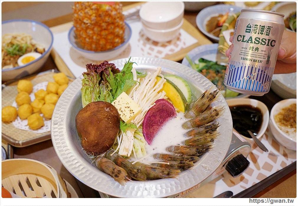 台中美食|復古中式茶館,火車站旁的阿嬤古早味餐廳-有春茶館
