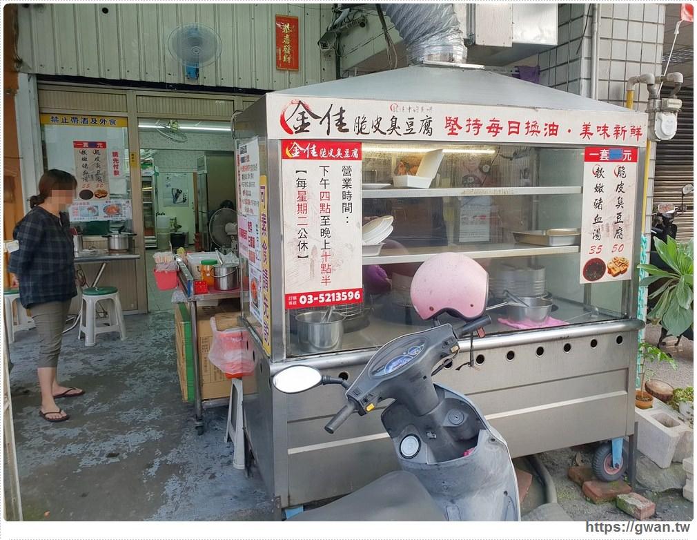 金佳脆皮臭豆腐 新竹城隍廟美食