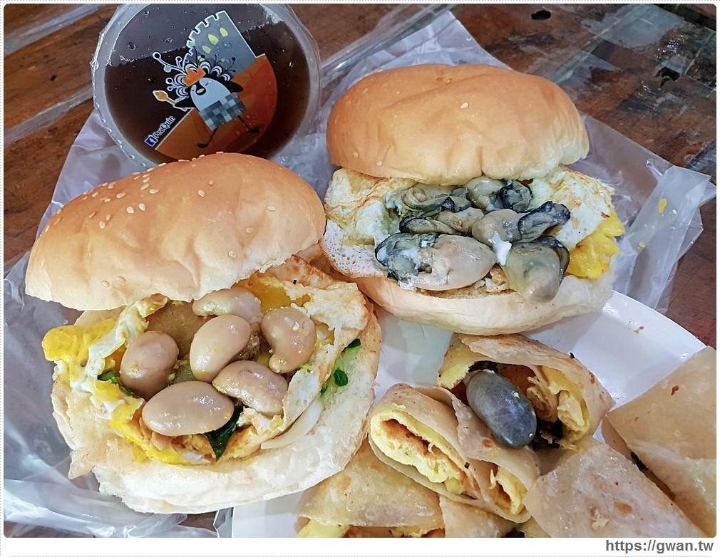 台南超狂痛風早餐!!一早吃雞佛漢堡、蚵仔漢堡,還有超補雙拼都在蟹堡王早餐店!!