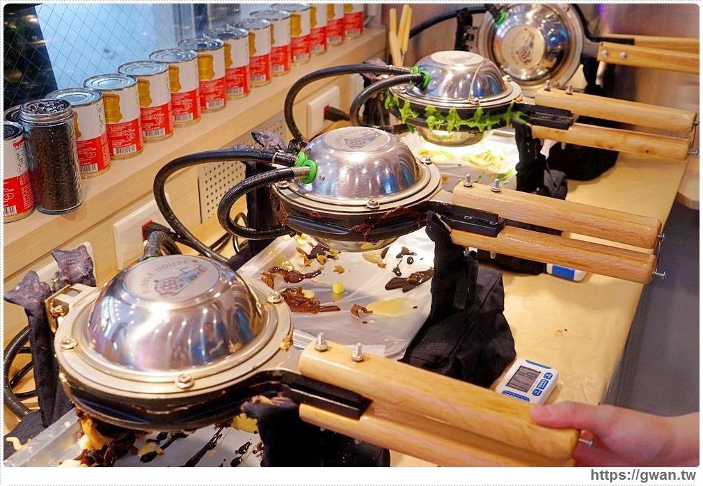 20190706145111 38 - 熱血採訪 | 波波食堂~台中第一間吹Dyson的雞蛋仔,還有全台首創宜蘭鴨賞和肉鬆鹹口味!!