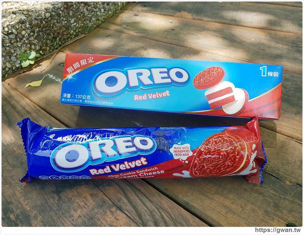 20190719122249 65 - 韓國爆紅的Oreo紅絲絨蛋糕,紅棕色可可餅乾+金黃起司內餡,期間限定~台灣也能買到囉!