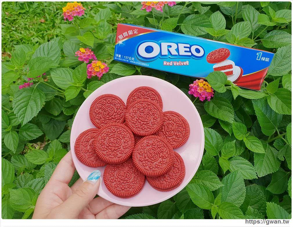 20190719122250 65 - 韓國爆紅的Oreo紅絲絨蛋糕,紅棕色可可餅乾+金黃起司內餡,期間限定~台灣也能買到囉!