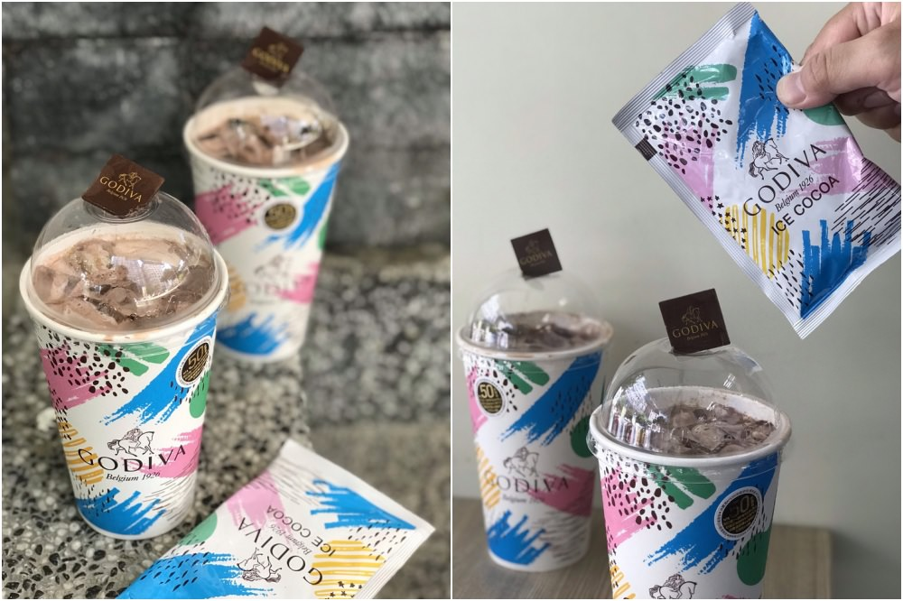 Godiva經典冰可可周三正式開賣!買飲料多送一片巧克力,平均每間7-11只有109杯~