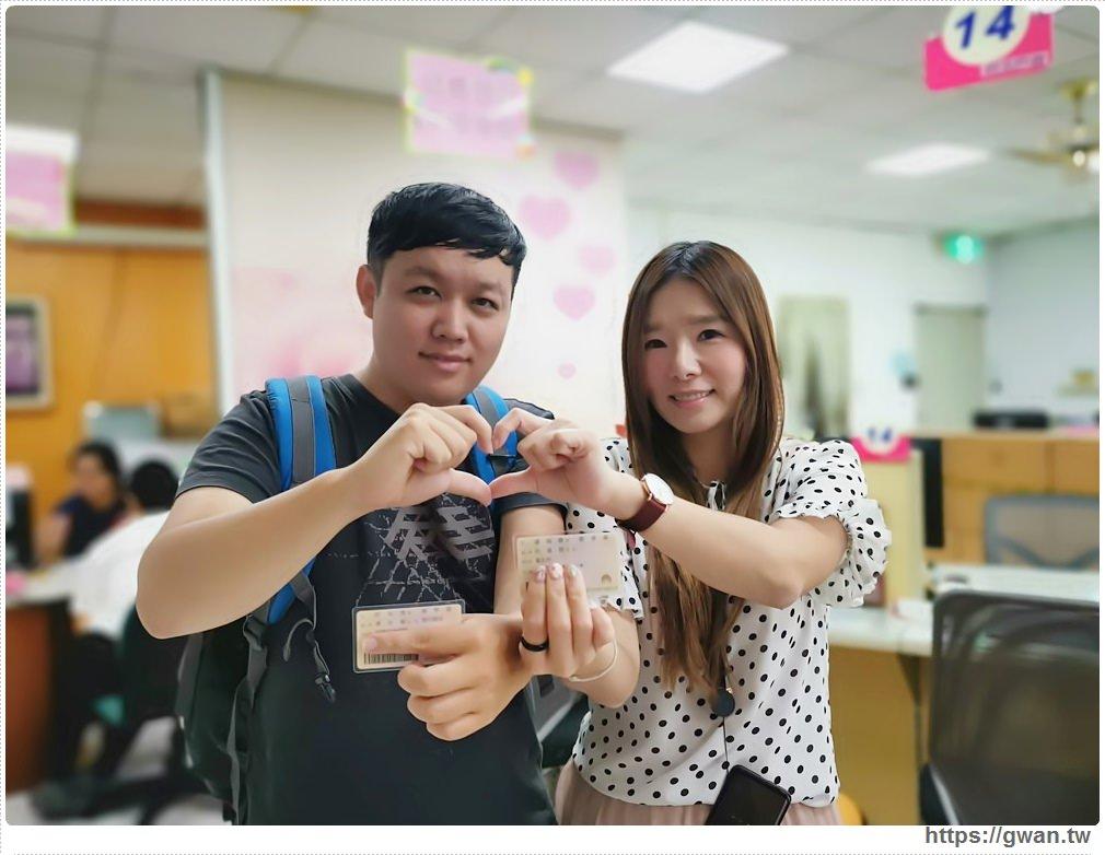 2019我們結婚了~在我最愛的台南!結婚登記流程、需要準備哪些東西?