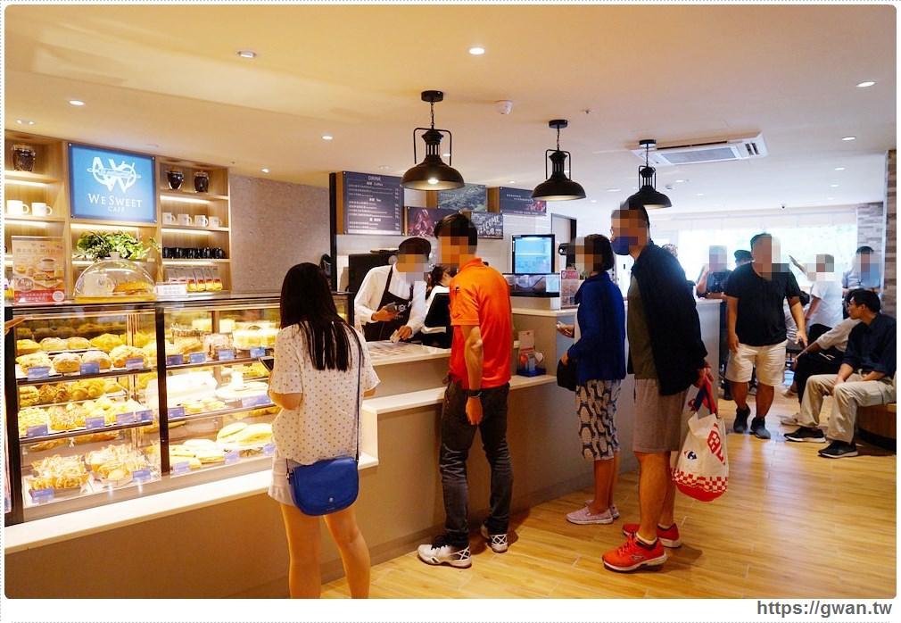 20190831210351 43 - 全台第一間全聯咖啡館開幕囉!早上就能吃到多款甜點,營運首日人潮擠爆~