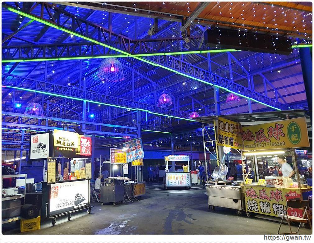 台中400坪新夜市 | 瑞豐國際美食村9/6試營運,下雨也可以逛的室內夜市還有超炫水母燈!
