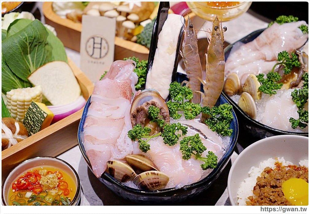20191023171121 9 - 熱血採訪 | 台中新開月暮藏涮涮鍋,藏在七期豪宅裡,獨特U型吧檯還有專人剝海鮮!
