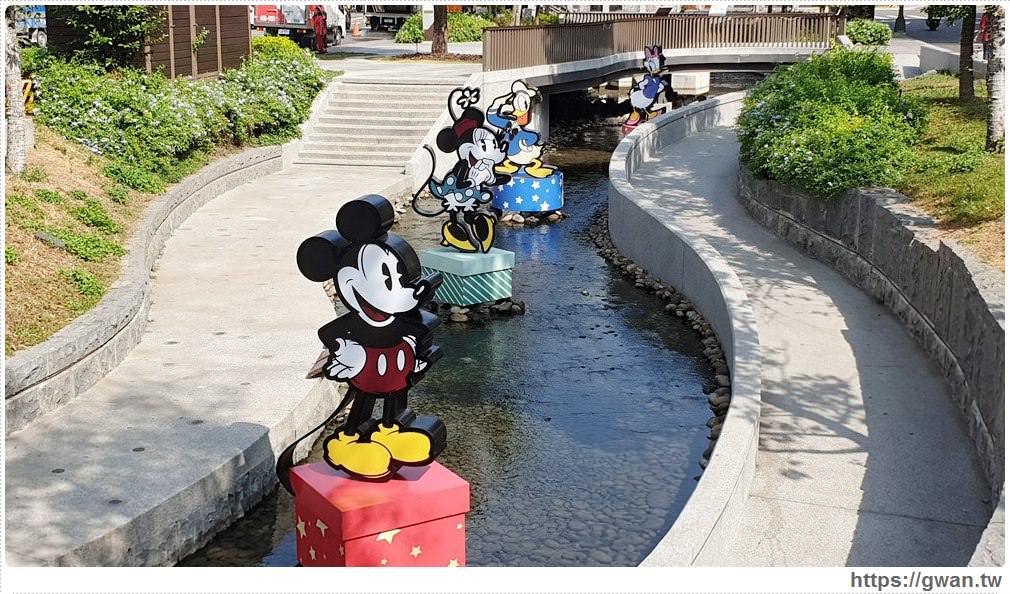 2019台中耶誕夢想世界,綠川水岸迪士尼燈節裝置搶先看!迪士尼控快出發~