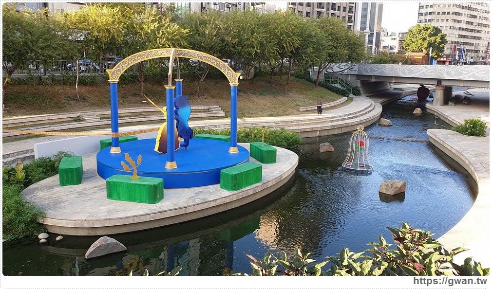 2019台中耶誕節~迪士尼六大公主陪你一起度過,就在柳川藍帶水岸步道!