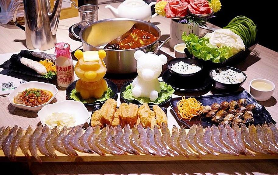台中超萌小熊維尼鍋來囉,愛食鍋生日幾歲送幾隻蝦蝦,每天限五組!