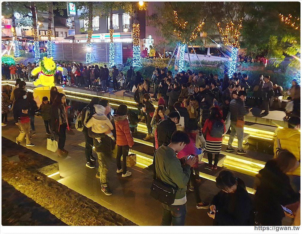 2019台中耶誕夢想世界   米奇、米妮水上燈飾點亮綠川水岸廊道,台中聖誕節景點