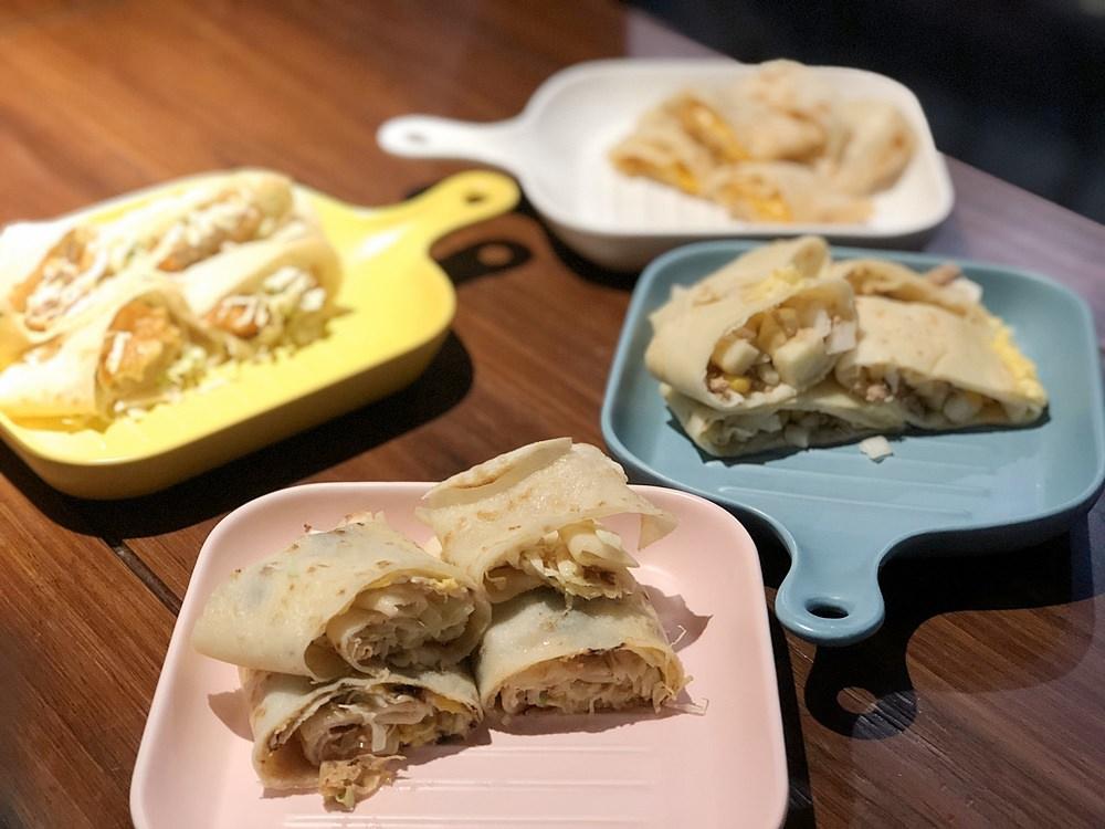 等咧粉圓台南 手工粉漿蛋餅